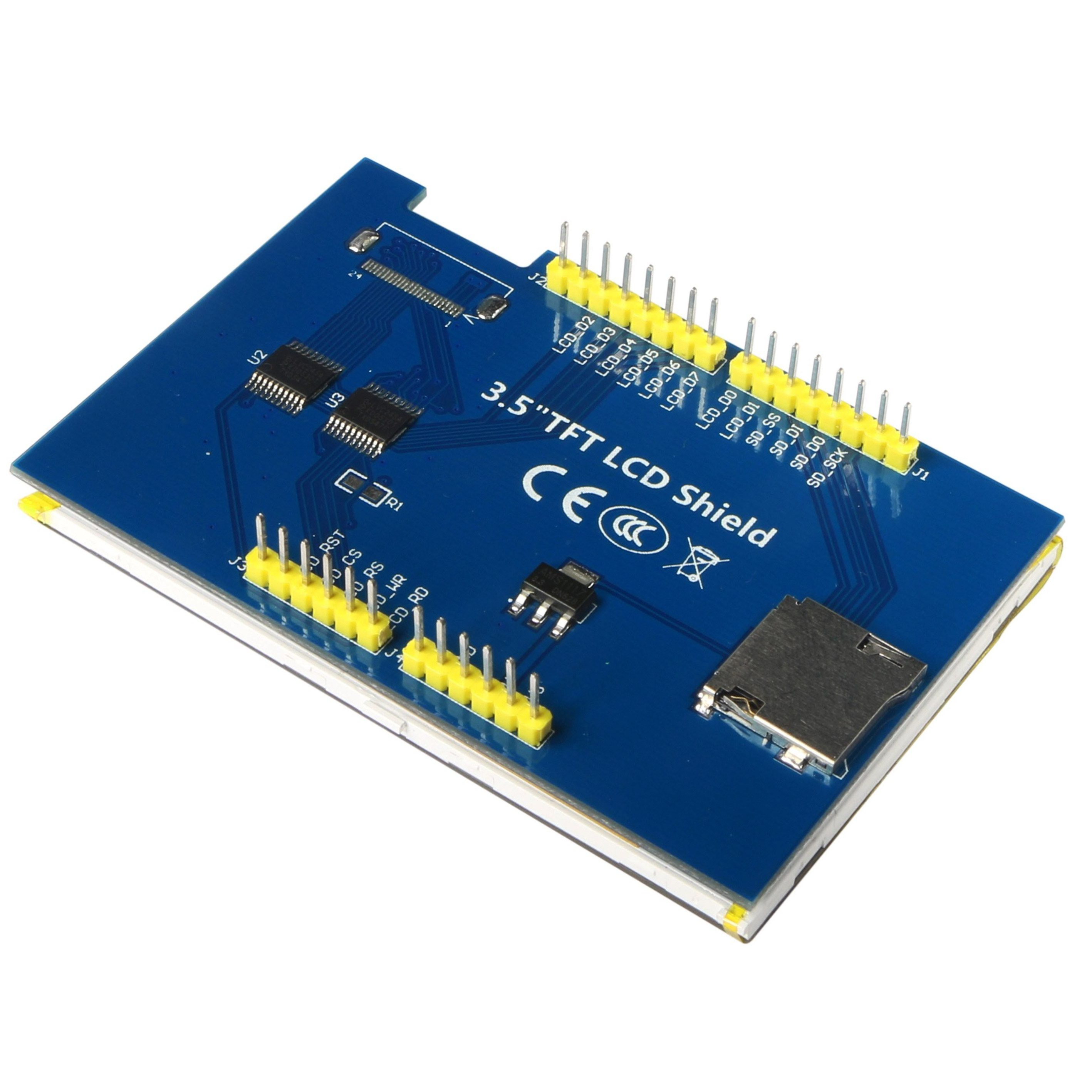 LCD-3.5 Datasheet Arduino Due on 4 serial ports, r3 pinout, no pins, bc847b, usb port, ups lithium, w5100 spi,