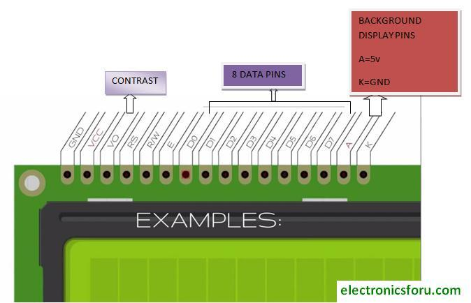 Lcd Two Lines 16 Character  U2013 C B Electronics